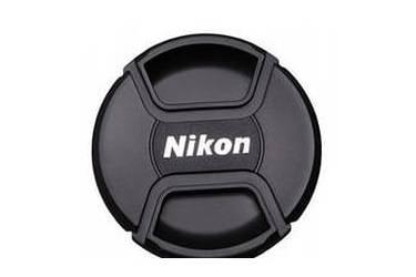 Крышка Fujimi для объектива с надписью Nikon 62 мм