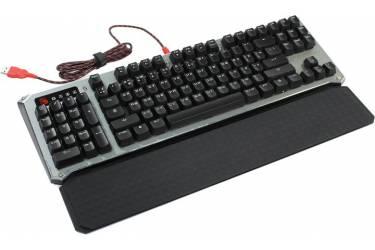 Клавиатура A4 Bloody B845R механическая серый/черный USB Gamer LED (подставка для запястий)