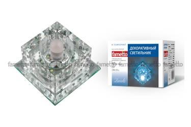 Светильник точечный Uniel DLS-L116 G9 GLASSY/CLEAR без лампы