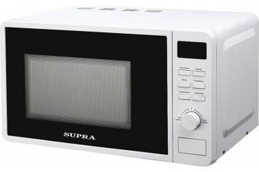 Микроволновая печь Supra MWS-20TW42 белый 20л тактовая/кнопочная