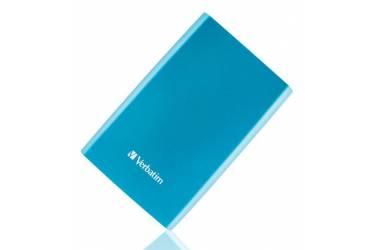 """Внешний жесткий диск 2.5"""" 1Tb Verbatim Store n Go синий NEW USB 3.0"""