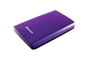 """Внешний жесткий диск 2.5"""" 500Gb Verbatim Store n Go фиолетовый USB 3.0"""