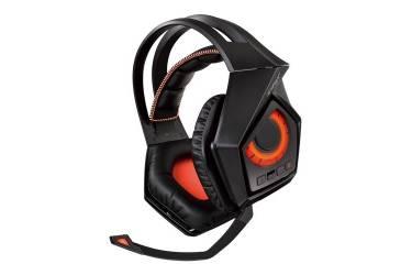 Наушники с микрофоном Asus ROG Strix Wireless черный 1.5м мониторы Radio оголовье (90YH00S1-B3UA00)