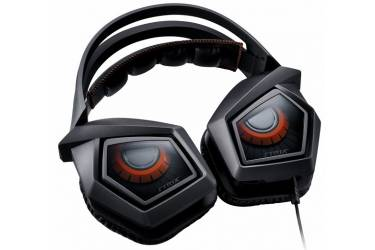 Наушники с микрофоном Asus Strix Pro черный/красный 2.7м мониторы оголовье (90YH00B1-M8UA00)
