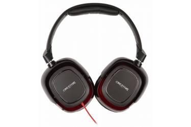 Наушники с микрофоном Creative HS 880 Draco черный/красный 2.5м мониторы оголовье (51EF0700AA001)