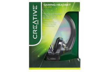 Наушники с микрофоном Creative HS-450 черный 2.5м мониторы оголовье (51EF0100AA004)