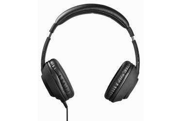 Наушники с микрофоном Hama Black Desire черный 1.8м мониторы оголовье (00053984)