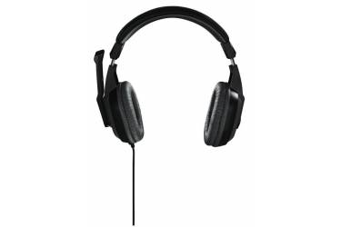 Наушники с микрофоном Hama Offbeat серый 2м мониторы оголовье (00053983)