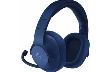 Наушники с микрофоном Logitech G433 TRIPLE синий 2м мониторы оголовье (981-000687)