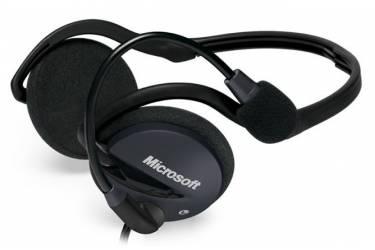 Наушники с микрофоном Microsoft LifeChat LX-2000 черный/серый 2.5м накладные шейный обод (2AA-00010)