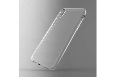 Силиконовый чехол для Samsung Galaxy A20, 1 мм,(Прозрачный)