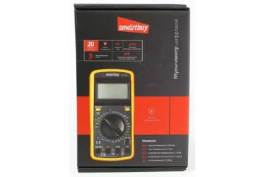 Мультиметр DT9201A, противоуд., многофункц., в компл: щупы, крона, Smartbuy tools (SBT-DT9201A)/40