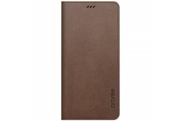 Оригинальный чехол (флип-кейс) для Samsung Galaxy A8 Designed Mustang Diary коричневый (GP-A530KDCFAIE)