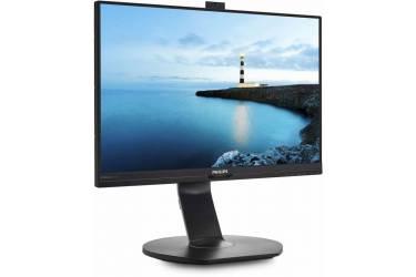 "Монитор Philips 21.5"" 221B7QPJKEB (00/01) черный IPS LED 16:9 HDMI M/M Cam матовая HAS Pivot 250cd 1920x1080 D-Sub DisplayPort FHD USB 5.08кг"