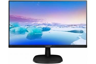 """Монитор Philips 21.5"""" 223V7QHSB (00/01) черный IPS LED 16:9 HDMI матовая 250cd 1920x1080 D-Sub FHD 2.92кг"""