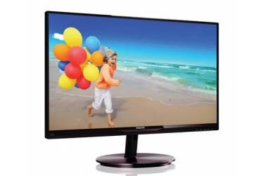 "Монитор Philips 21.5"" 224E5QSB (00/01) черный IPS LED 14ms 16:9 DVI матовая 250cd 1920x1080 D-Sub FHD 3.14кг"