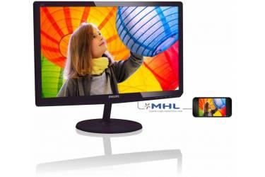 "Монитор Philips 21.5"" 227E6LDAD (00/01) черный TN LED 16:9 DVI HDMI M/M матовая 250cd 1920x1080 D-Sub FHD 2.95кг"