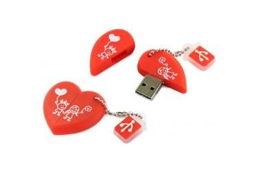 USB флэш-накопитель 16GB SmartBuy Wild series Сердце USB2.0