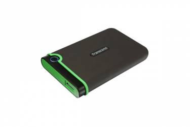 """Внешний жесткий диск 2.5"""" 500Gb Transcend StoreJet 25М3 серый USB 3.0"""