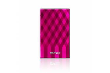 """Внешний жесткий диск 2.5"""" 1Tb Silicon Power Diamond D10 розовый USB 3.0"""