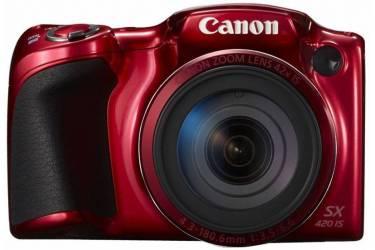Цифровой фотоаппарат Canon PowerShot SX420 IS красный