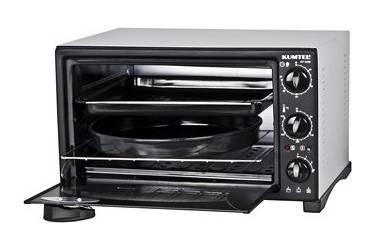 Мини-печь KUMTEL KF 5320 серый 32л, внутр эмаль,гриль,таймер,решётка,2противня