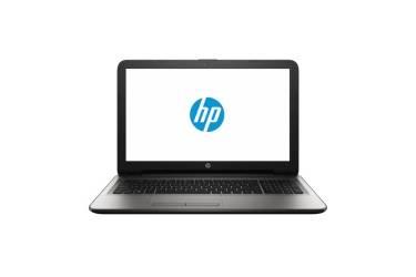 """Ноутбук HP15 15-ay500ur Y5K68EA 15.6"""" HD GL/Pentium N3710/4Gb/500Gb/AMD M430 2Gb/DVD-RW/Win10/серебро"""