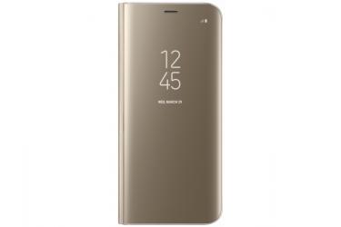 Оригинальный чехол (флип-кейс) для Samsung Galaxy S8+ LED View Cover золотистый (EF-NG955PFEGRU)