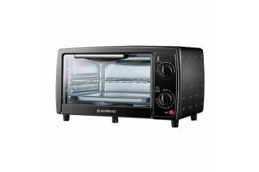 Мини-печь Endever Danko 4005, черный, 10 литров, 800 Ватт, таймер 30 мин, темп. до 250 градусов