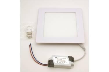Встраиваемый (LED) светильник _FOTON_Q12_-12w/4000K/IP20_166х20мм (врезн.отв.155мм) _КВАДРАТ_1080люм