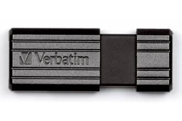 USB флэш-накопитель 4GB Verbatim Pin Stripe черный USB2.0