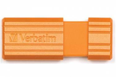 USB флэш-накопитель 8GB Verbatim Pin Stripe оранжевый USB2.0