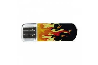 USB флэш-накопитель 8GB Verbatim Mini Elements Edition огонь USB2.0