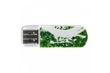 USB флэш-накопитель 8GB Verbatim Mini Graffiti Edition зеленый USB2.0