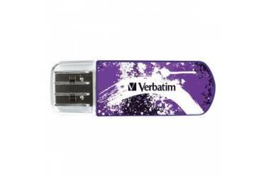 USB флэш-накопитель 8GB Verbatim Mini Graffiti Edition фиолетовый USB2.0