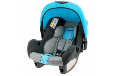Автокресло детское Nania Beone SP FST (pop blue) от 0 до 13 кг (0/0+) черный/голубой