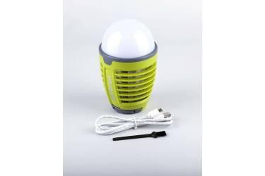 Светильник антимоскитный светодиодый аккумулят. _FERON TL850 _1*5Вт_ловушка для насекомых (S=40м2)