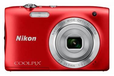Цифровой фотоаппарат Nikon CoolPix S2900 красный