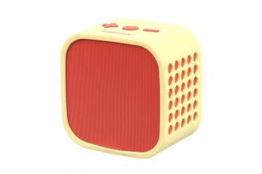 Портативная беспроводная bluetooth акустика SmartBuy Smarty краснаяжелтая