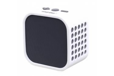 Портативная беспроводная bluetooth акустика SmartBuy Smarty чернаябелая