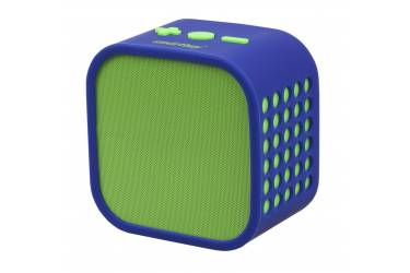 Портативная беспроводная bluetooth акустика SmartBuy Smarty зеленаясиняя