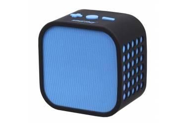 Портативная беспроводная bluetooth акустика SmartBuy Smarty синяячерная