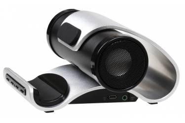 Портативная беспроводная bluetooth акустика SmartBuy Sound Bazooka алюминиевая