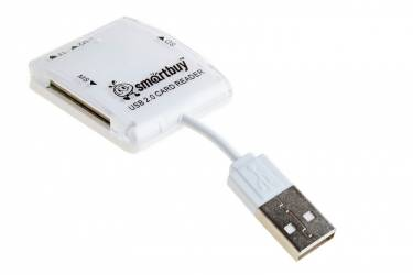 Картридер Smartbuy белый (SB54-W)