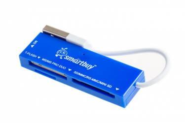 Картридер Smartbuy голубой (SB58-B)