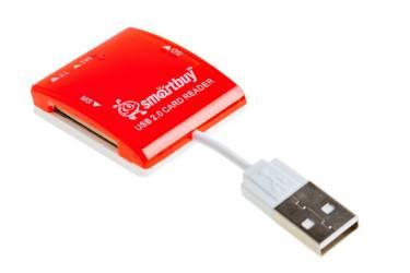 Картридер Smartbuy красный (SB54-R)