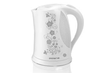 Чайник Polaris PWK1822CLR белый/серый (пластик)