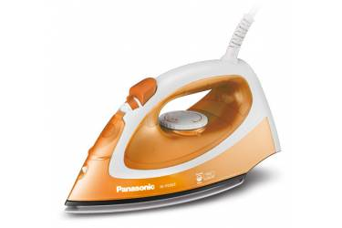 Утюг Panasonic NI-P200TTTW 1550Вт оранжевый/белый титановая подошва