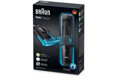 Машинка для стрижки Braun HC5010 черный (насадок в компл:1шт)