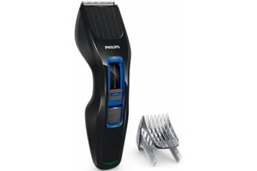 Машинка для стрижки Philips HC3418/15 черный/синий (1нас) сеть